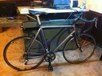 I have a 56cm custom built aluminum bike that I built