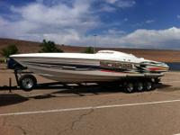 2001 Wellcraft Scarab 33 AVS,2001 Scarab 33 AVS with