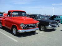 1957 Chevy truck on S-10 4 wheel drive frame and