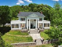 ANTEBELLUM ESTATE W/4BR, 3 1/2 BA on 14.86 ac. From the