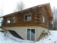 Michigan Log Cabin for Sale! Beautiful 2 BR 1BA Log