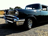 57chevy-150 bodywork and paint by Hubbard 10K, 327 by
