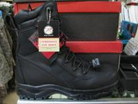 "8"" Forced Entry, Side Zipper Tactical Boots. These"