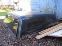 "leer fiberglass truck topper for sale. 58"" long x 62"""