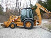 2004 case 580M Turbo 1270 hours cab a/c one owner 18''