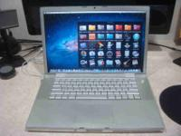 "Up for sale I have a MacBook Pro 15"". We just upgraded"