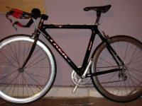 Trek 5200 OCLV carbon road bike 54cmSet up as a time