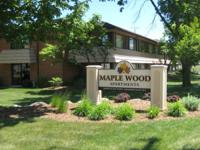 Maplewood apartments are all one bedroom units, with