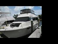The Viking 63 Extended Aft Deck Motor Yacht has the