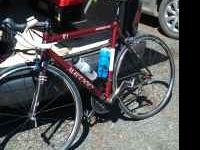 Selling Matioli Road bike 58cm, bike is an Easton frame