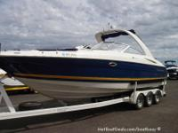 .2002 Monterey 298 SS Super Sport Low Hours on Twin