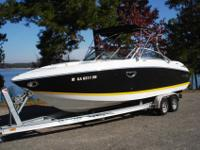 Nearly new 2007 Cobalt 252 (now called a 262) bow rider