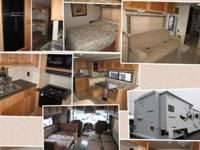 2008 Itasca Sunstar bunkhouse Class A RV with bunk bed