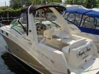 2006 Sea Ray 260 SUNDANCER Originally sold and