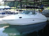 Nearly perfect and LOADED 2011 Searay 240 Sundancer