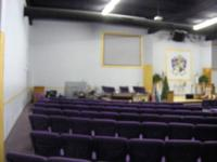 All new interior 6 years ago. The main worship room can