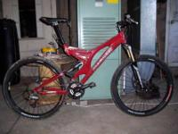 Bike was $2,800 NEW!!! 18in frame, Specs are listed