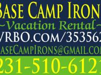 Your vacation adventure starts @ Base Camp Irons! Cabin