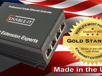 Professional Grade USA Made Ethernet Extenders -
