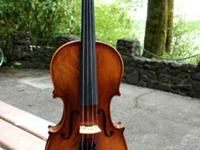 This is a very fine Advanced violin.This violin is made