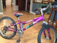 "We have three very nice 20"" 6 Speed kids mountain bikes"