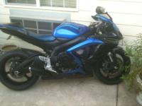 06 blue and black color scheme GSXR-600, 10k miles, I