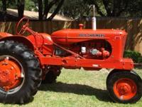Allis Chalmers WD 1951 Row Crop Farm Tractor Restored
