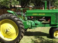 John Deere A 1944 Farm Tractor Restored Perfect