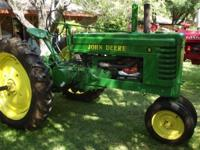 John Deere B 1939 Farm Tractor 2cyl all fuel Restored