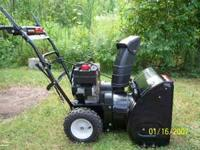 "Yard Machines by MTD 5.5hp 24"" two stage snowblower for"