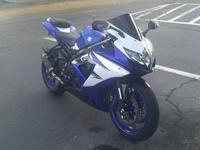 2008 Suzuki GSX-R with ~9500 miles. It has a 64 tooth