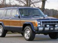 HERE IS AN ABSOLUTELY INCREDIBLE 1990 JEEP CHEROKEE