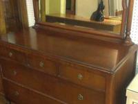 very nice antique/vintage dresser 50in wide, 36in tall,