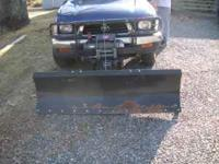 For sale is a 5' snow plow for a UTV, small truck or