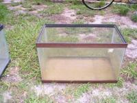 Small 5 gal tank has a small hole in the glass on the