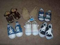 Baby Shoes - $12 Please call or text me at  Description