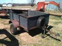 Nice trailer comes with spare all tires in good shape