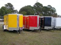 Let Snapper Trailers fill your enclosed cargo trailer