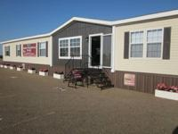 BEAUTIFUL NEW  5 BEDROOM, 3 BATH DOUBLEWIDE MOBILE HOME