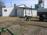 Breckenridge tiller--5 ft cultivator--manual lift