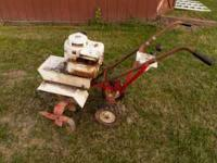 Front tine garden tiller with 5HP Briggs & Stratton