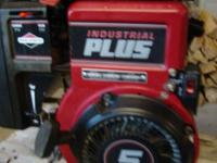 5hp. Industrial Plus Briggs and Stratton engine Made in