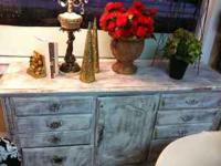 FOR FASTER REPLY TEXT:  DRESSER, CHEST, MIRROR, TWO END