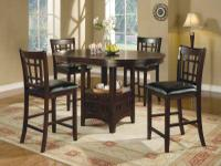 *ALL NEW*  DINING ROOM TABLE AND 4 CHAIRS  Available In