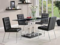 Item# 18102311 Beautiful contemporary dining set The