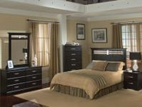 Come Check Out this Brand New Bedroom Set Set Includes: