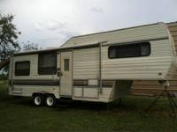 1989 27ft wilderness 5th wheel  All season camper;