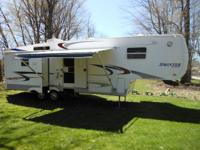 35' 2004 sprinter 5th wheel with 3 slides. This camper