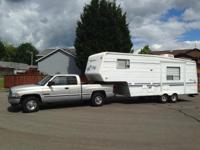 1999 Sunnybrook 24-foot 5th-Wheel: - Electric slide out