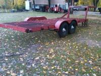 5th wheel trailer Flat Bed 27 foot Total Length Top